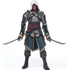 Assassins Creed Edward Canvey Cosplay New in Orginal Box HT1930