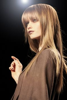 hairstyle bangs blonde - Google-Suche
