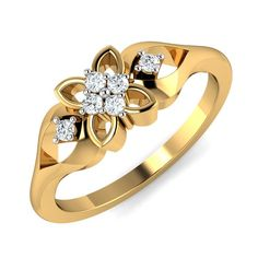 Gold Ring Designs, Gold Bangles Design, Gold Jewellery Design, Gold Rings Jewelry, Gold Bracelets, Diamond Earrings, Women's Jewelry, Flower Earrings, Stone Jewelry