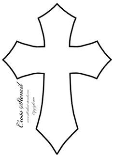 Four cross stencil designs for card making or any other art and craft project. Stenciling ideas and many free stencils. Free Stencils, Stencil Templates, Stencil Patterns, Stencil Designs, Painting Patterns, Scroll Saw Patterns, Cross Patterns, Wood Patterns, First Communion Banner