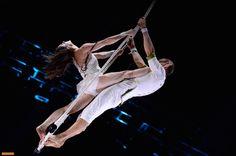 Soirée Cirque. Varekai (Cirque du Soleil), Cirque de demain 2014, Sarrasani. Dec. 26th 2014. From 20h50 (19:50 GMT). Arte