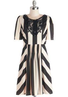 An Edgy Affair Dress, #ModCloth