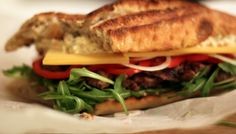 Verdens bedste steak sandwich...