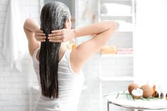 Searching for homemade hair mask to solve your hair woes? Nykaa's Beauty Book brings the best hair mask for dry hair, frizzy hair & hair fall. Read on to make hair mask at home like egg hair mask, banana, onion hair mask etc. Hair Mask For Growth, Hair Growth Tips, Natural Hair Growth, Natural Hair Styles, Grow Long Hair, Grow Hair, Grey Hair Remedies, Vinegar For Hair, Best Hair Mask