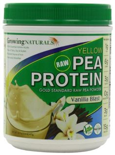 Growing Naturals Growing Naturals Yellow Pea Protein Powder, Vanilla Blast , Pound Learn more by visiting the image link. Natural Protein Powder, Pea Protein Powder, Natural Lifestyle, Sports Nutrition, Healthy Alternatives, Amino Acids, Build Muscle, Health And Beauty, Vanilla