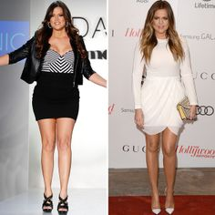 Celebrities Who've Lost a Ton of Weight | Khloe Kardashian