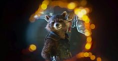 Rocket Raccoon and Groot in Guardians of the Galaxy Vol 2