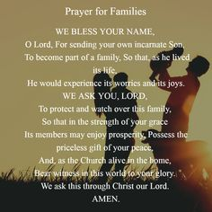 Respect Life, Prayer For Family, No Worries, No Response, November, Prayers, Blessed, Self, Lord