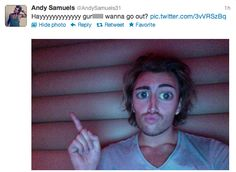 Andy Samuels aka tarzan aka Charlie from Busted aka Ethan Craft from Lizzie Mcguire aka the prince from Shrek aka an extra in The Lion King