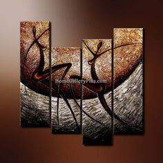 Oil Painting Wall Art on Canvas - Figure PTG4235