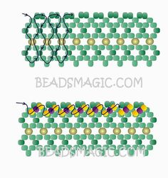Free pattern for beaded necklace Marriage Day         U need: seed beads 11/0 round beads 2-3 mm rice beads or drops beads