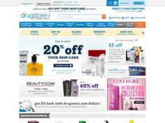 Shopping online for vitamins, skin care, make up and health care products will get easier if you visit DrugStore.com. Get discounts of up to 20% off on a number of products, by using DrugStore promo codes, which are available from time to time. So if you plan to buy anything at drugstore, please make it a point to look for all the latest promotions at FreeShipping-Code.com and claim your share of savings. http://www.freeshipping-code.com/coupons/drugstore-promo-codes/ #drugstorepromocode…