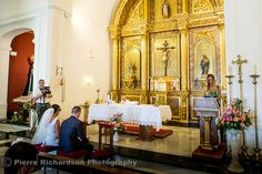 The Alter at Santo Domingo Church Benalmadena