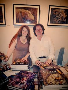 Brian and Wendy Froud at AFANYC