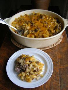 HAMBURGER SUPREME CASSEROLE « The Southern Lady Cooks