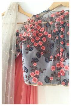 The Botanical Lehenga Set Designer Party Wear Dresses, Indian Designer Outfits, Ethnic Outfits, Indian Outfits, Party Wear Lehenga, Lehenga Wedding, Stylish Blouse Design, Lehnga Dress, Indian Look