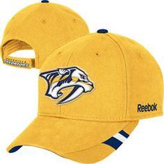 How cute would the boys look in this!! Nashville Predators Gold Youth Structured Logo Adjustable Hat $17.99 http://www.fansedge.com/Nashville-Predators-Gold-Youth-Structured-Logo-Adjustable-Hat-_2109747837_PD.html?social=pinterest_pfid28-44855