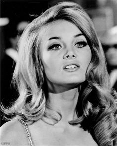 Barbara Bouchet born as Barbara Gutscher in Sudetenland, Germany on 15 August 1943