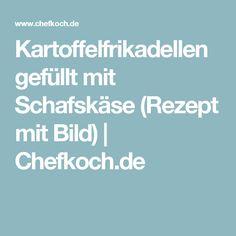 Kartoffelfrikadellen gefüllt mit Schafskäse (Rezept mit Bild) | Chefkoch.de