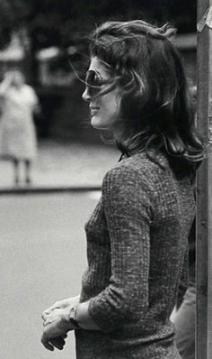 Jackie in New York, 1971.