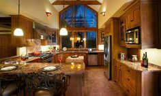 Craftsman Style Kitchen | visit mulletcabinet com