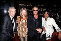 John Arguelles AnnaLynne McCord, Lloyd Klein, and Natalie Cole at Lloyd Kleins Birthday Dinner  at Spago Beverly Hills