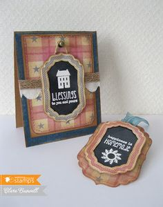 Clare's creations: Waltzingmouse Stamps - Country Labels No.4
