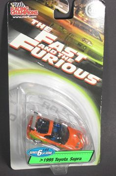 The Fast And The Furious-1995 Toyota Supra-Racing Champions-1:64 scale #RacingChampions #Toyota