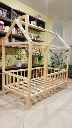 www.facebook.com/bernaizaugsmei Natural wood, lacquered Montessori kids bed, made in Latvia from highest quality pine tree beams. Pine Tree, Kid Beds, Kids Furniture, Natural Wood, Montessori, Beams, Facebook, Home Decor, Furniture For Kids