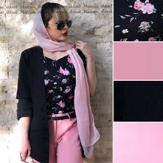 Modest Fashion Hijab, Fashion Dresses, Colour Combinations Fashion, Star Fashion, Womens Fashion, Iranian Women Fashion, Hijabs, Fashion Sewing, Acupuncture