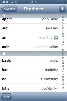 Teach Your I-Phone / I-Pad Shortcuts To Words/Names You Type Often   /   LH