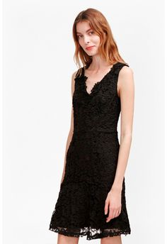 b66bf7cac891 Bloomsbury Lace Peplum Hem Dress Clothes For Sale