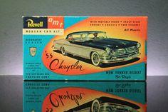 Revell 1955 Chrysler New Yorker Plastic Model Kit