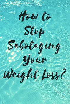 """Registered Dietitian's thought on """"How to Stop Sabotaging Weight Loss?"""""""