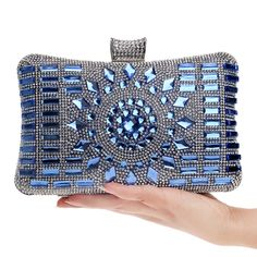 NEW diamond silver evening bags top quality gold clutch bag blue bag party wedding bridal purse 4 colors-in Evening Bags from Luggage & Bags on Aliexpress.com | Alibaba Group