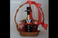 Kosz na Podziękowanie Prezent Upominek Ślub Rocznica Straw Bag, Picnic, Basket, Bags, Handbags, Picnics, Bag, Totes, Hand Bags