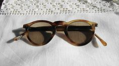 Vintage round sunglasses by hastearsofcloth on Etsy, $25.00