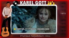 Karel Gott-Přehled největších hitů (1970-1979) Karel Gott, Music Publishing, Music Videos, Songs, Make It Yourself, Artist, Youtube, Artists, Song Books
