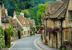 Castle Combe - The most beautiful village in Wiltshire, England. Watch http://destinations-for-travelers.blogspot.com/2014/02/castle-combe-medieval-village-in-wiltshire-england.html
