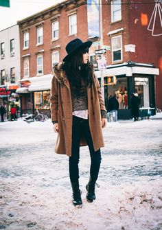 the-streetstyle:  Snow Dayvia jaglever
