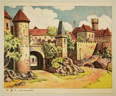 DS 6a. [Burg. Hintergrund, Alte Ausgabe]