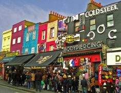 Camden Market (Camden High Street) London UK