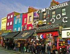 Camden Market (Camden High Street) London UK