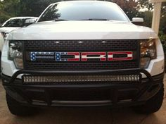 Oh my goodness...I'm in love<3 American Flag Ford Raptor