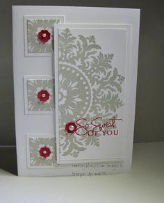 Medallion - SU / as a Christmas card?