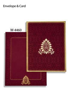 Indian Wedding Cards W-4460    http://www.allweddingcards.com/cart/completecard.asp?code=W-4460