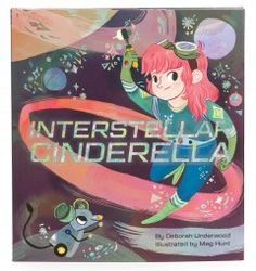 Once upon a planetoid, amid her tools and sprockets, a girl named Cinderella dreamed of fixing fancy rockets. With a little help from her fairy godrobot, Cinderella is going to the ball. But when the prince's ship has mechanical trouble, someone will have to zoom to the rescue! Readers will thank their lucky stars for this irrepressible fairy tale retelling, its independent heroine, and its stellar happy ending.