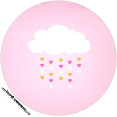 Pink Cloud Party Printables