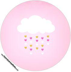 Pink Cloud Party Printables