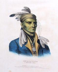 Chippewa Indian Chief